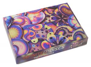 Infinite Discs Hye8Dye 500 Piece Puzzle
