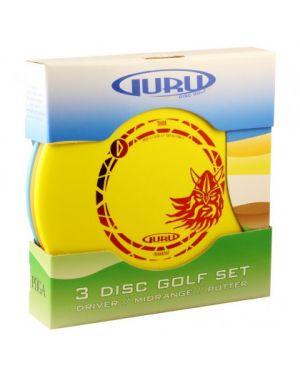 Guru 3 Disc Golf Set