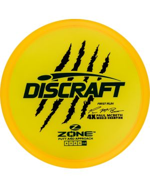 Z Zone Paul McBeth Tour Series First Run