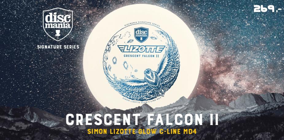 Discmania Crescent Falcon 2 C-line Glow Simon Lizotte