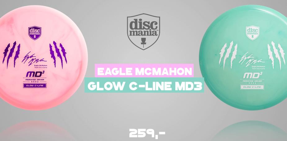 Discmania MD3 Color Glow C-line Eagle McMahon