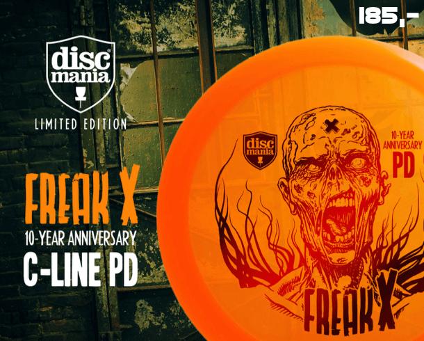 Discmania C-line PD Freak-X 10 Year Anniversary